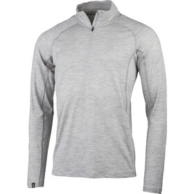 Lundhags Gimmer Merino Light 1/2 Zip Top Men, light grey